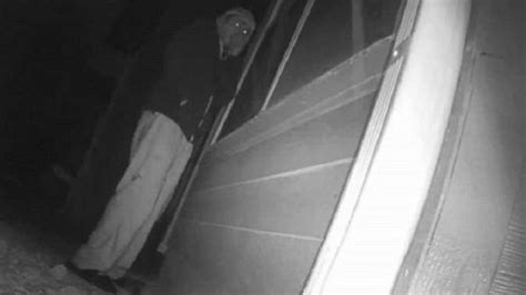 Woman's Hidden Camera Catches Alleged Peeping Tom