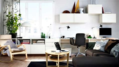 bureau salon bureau dans le salon mariekke