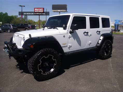 white jeep unlimited lifted lifted jeep wrangler unlimited sahara car interior design