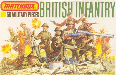 matchbox p world war ii british infantry
