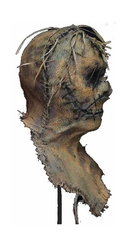 Scarecrow Masks Halloween Mask Haunted Scary Diy