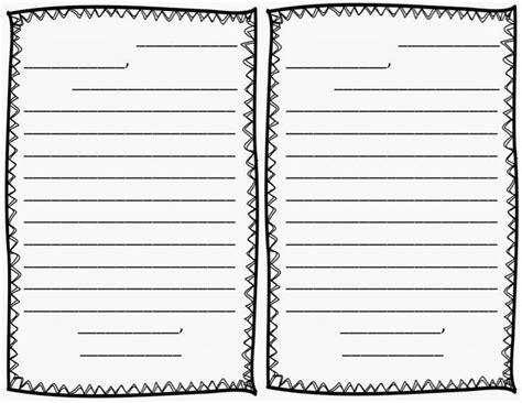 friendly letter template freebie manic monday grammar