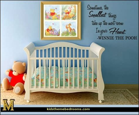 Winnie The Pooh Nursery Decorations by Decorating Theme Bedrooms Maries Manor Winnie The Pooh