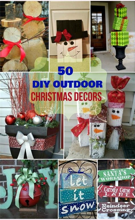 outdoor christmas ideas  pinterest large