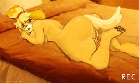 Animation Isabelle By Spicedlemonade