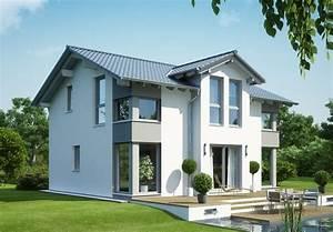Hausfassade Weiß Anthrazit : evolution 125 v4 bien zenker fertighaus ~ Markanthonyermac.com Haus und Dekorationen