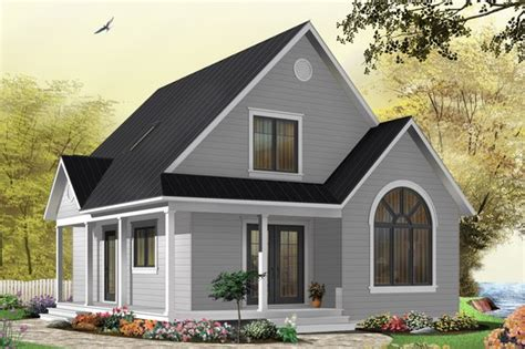 Cottage Style House Plan 2 Beds 1 Baths 920 Sq/Ft Plan