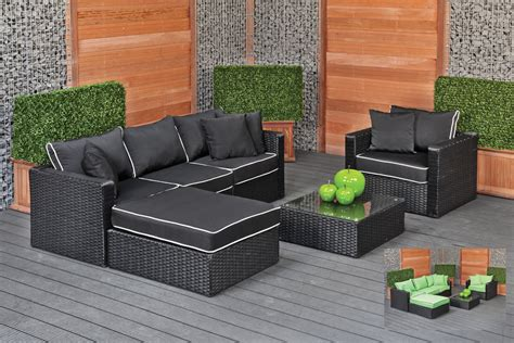 grey outdoor sofa grey wicker sectional patio