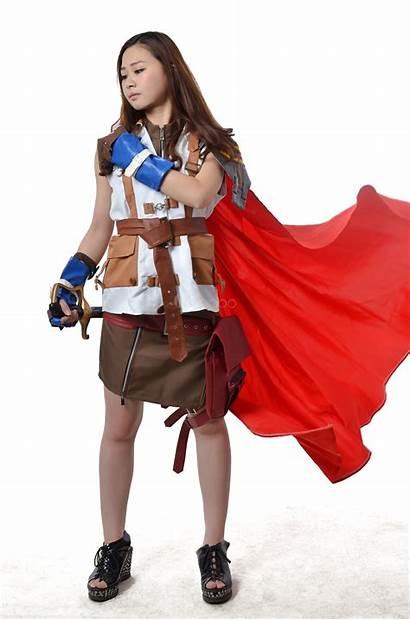 Fantasy Cosplay Final Lightning Xiii Costume