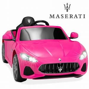 Bcp Kids 12v Licensed Maserati Grancabrio Ride On Car W