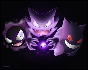 Pokémon by Review: #92 - #94: Gastly, Haunter & Gengar