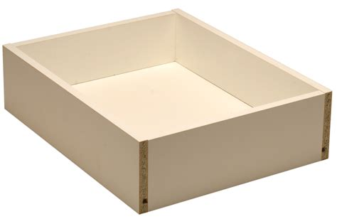 Rta Inset Cabinets by White Melamine Drawer Box Walzcraft