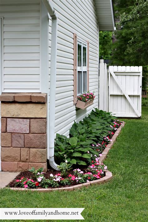 side yard ideas side yard makeover creating curb appeal love of family home