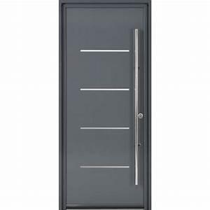 porte d39entree sur mesure en aluminium strate excellence With portes d entrée leroy merlin