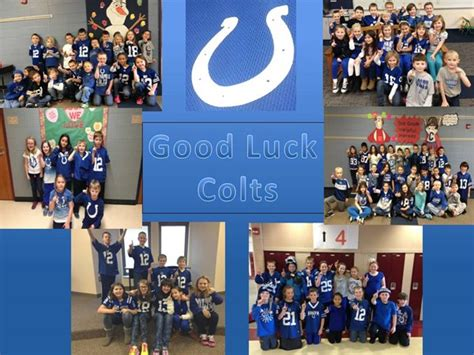 colts day fortville elementary school