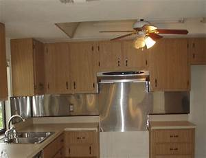 Amazing Kitchen : Replace fluorescent light fixture in ...
