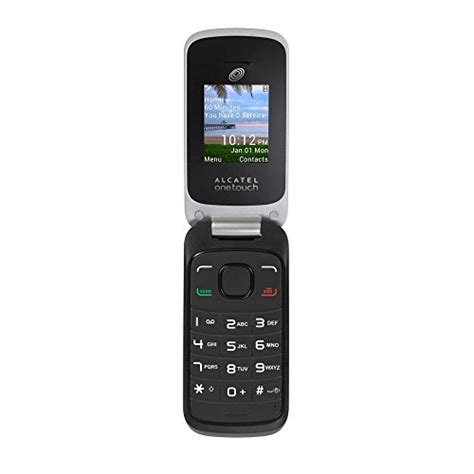 tracfone flip phones tracfone alcatel onetouch no contract cell phone black