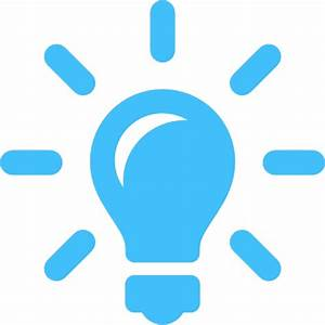 Light Bulb Idea Icon   Clipart Panda - Free Clipart Images