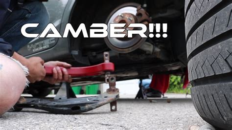 camber arm install thth gen civic  youtube