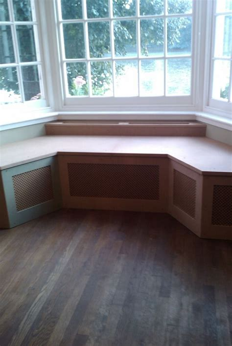 Bay Window Seat Ideas  Bench Seat, Radiators And Bench