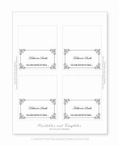 seating place cards template resume builder With table placement cards templates