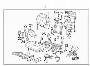 Gmc K1500 Seat Trim Panel  Front   Split Bench Seat 60  40
