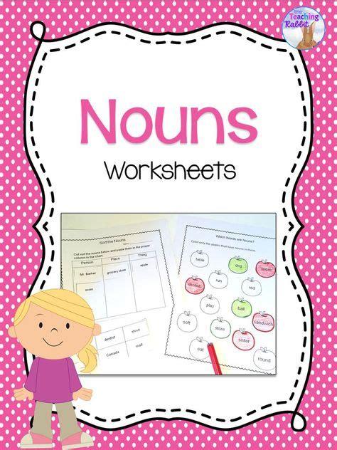 nouns worksheets  images nouns worksheet