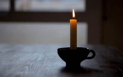 Candle Table Close Wallpapers Background Promise Grandma
