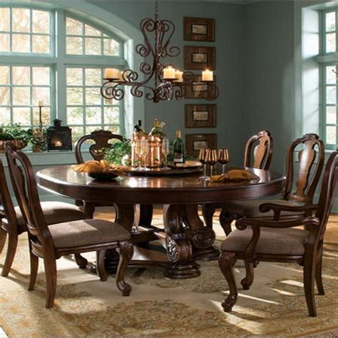 Choose Round Dining Table For 6  Midcityeast