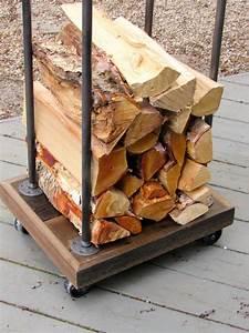 Rustic, Firewood, Rack