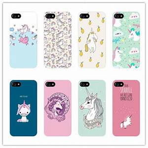 Cute Cartoon Unicorn Case for Samsung Galaxy s5 s6 s7 edge ...