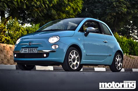 Fiat Convertible Review by 2012 Fiat 500 Convertible Review Motoring Middle East