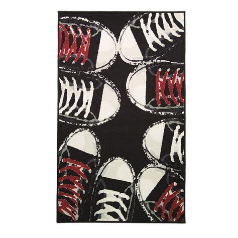 tapis de chambre ado tapis chambre ado sneakers flair rugs 100x160