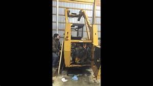 Case 1840 Skid Steer Cummins 4bt First Start After Rebuild