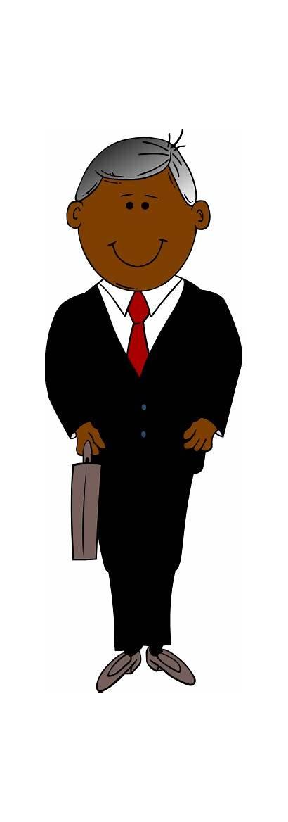 Businessman Clipart Clip Executive Business Cliparts Transparent