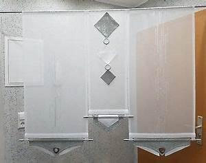 Panneaux Gardinen Modern : balkont r gardine grau wei modern eur 80 00 picclick de ~ Markanthonyermac.com Haus und Dekorationen