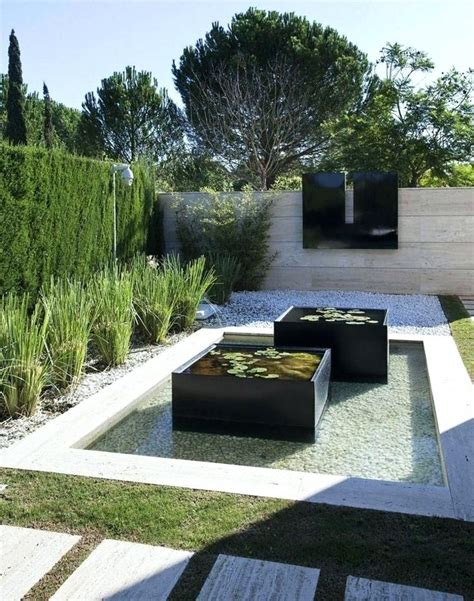 Teich Ideen Garten by Garten Moderner Teich Ideen Zur Gartengestaltung Modern