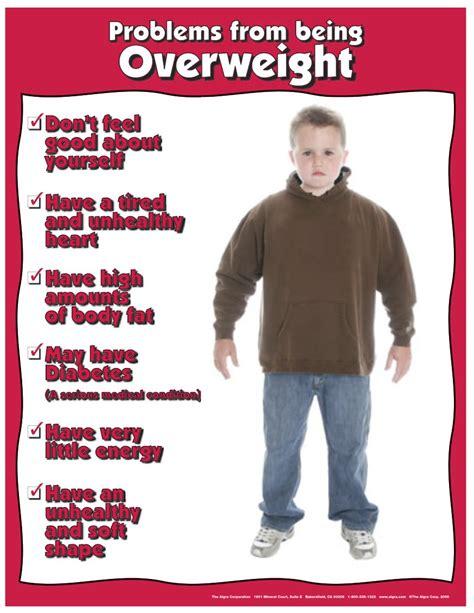 Health Poster Overweight Children