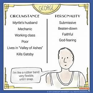 Character Traits Chart For The Great Gatsby - Owl eyes and ...