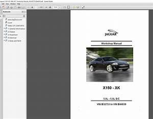 Jaguar X150 5 0l 2006