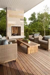 17 Best Ideas About Modern Outdoor Fireplace On Pinterest