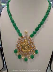 Gold Beads Necklace Indian Designs