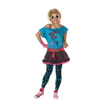 Valley Girl 80s Outfit / Eighties Costume