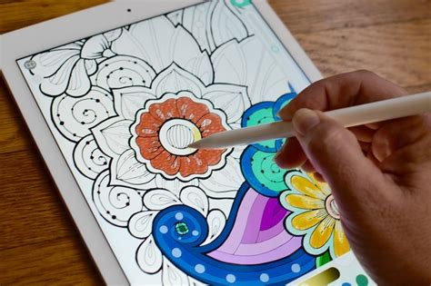 coloring books  adults  ipad   imore