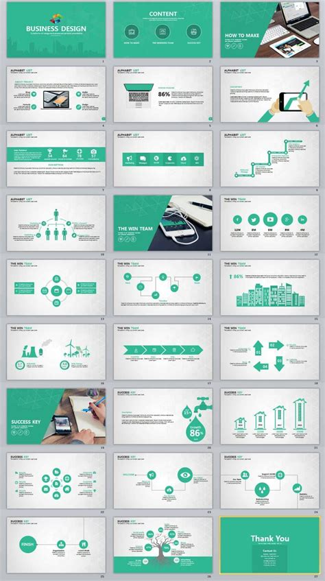 design business professional powerpoint templates