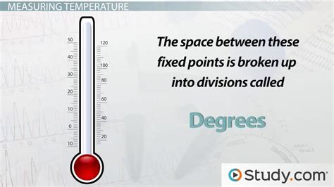 What Is Temperature?  Definition & Measurement  Video