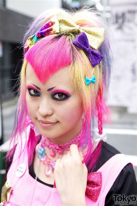 dokidoki vanis kawaii pink hairstyle candy colored