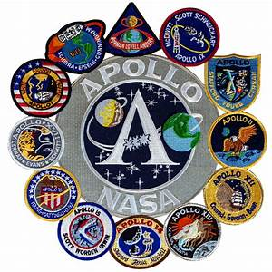 Apollo Collage – Space Patches