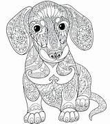 Coloring Dane Adult Printable Dog Adults Getdrawings Mandala Animal Colouring Puppy sketch template