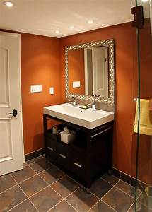 Beautiful Burnt Orange Paint Remodeling Ideas with Clear